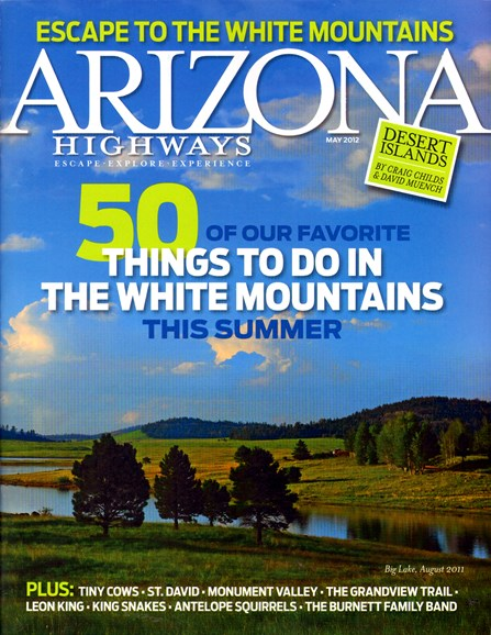 Arizona Highways Cover - 5/1/2012