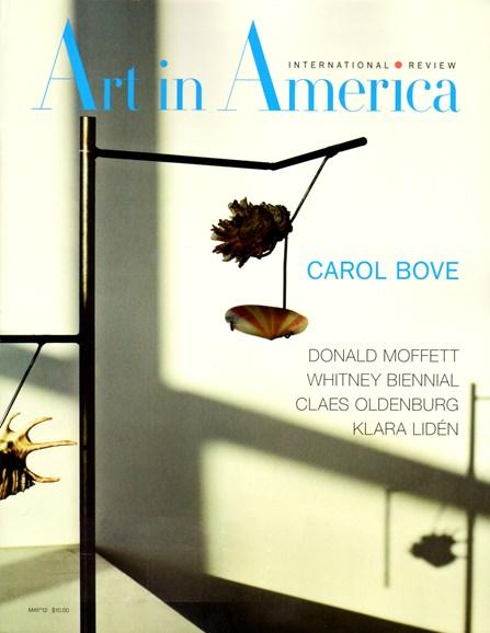 Art In America Cover - 5/1/2012