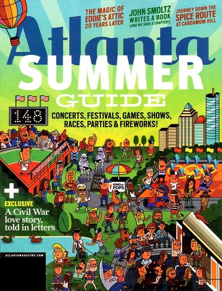 Atlanta Magazine Cover - 5/1/2012