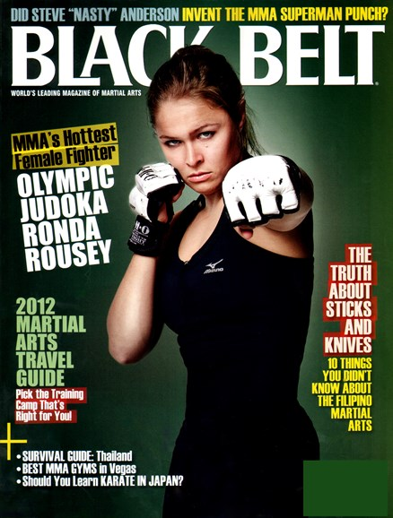 Black Belt Magazine Cover - 5/1/2012