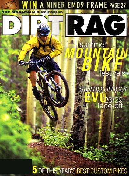 Dirt Rag Cover - 5/1/2012