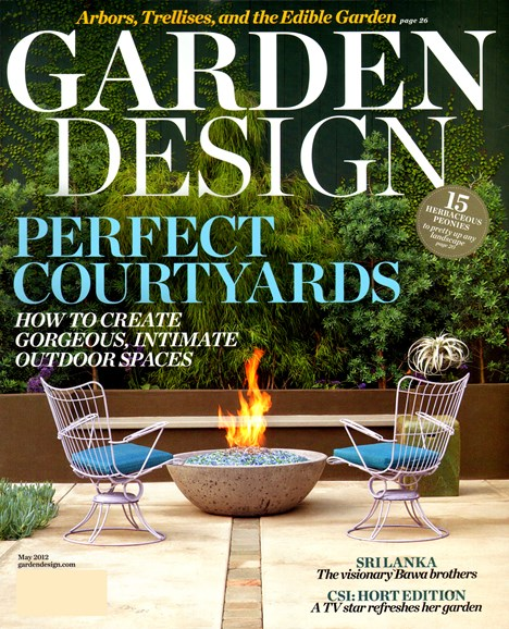 Garden Design Cover - 5/1/2012