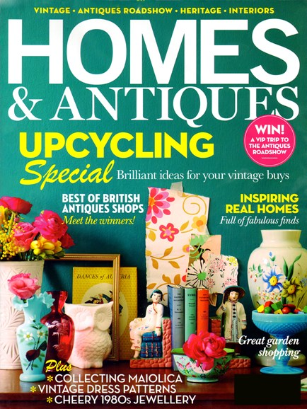 Homes & Antiques Cover - 5/1/2012