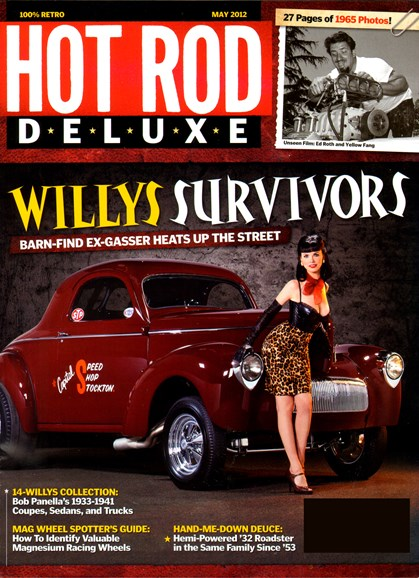 Hot Rod Deluxe Cover - 5/1/2012
