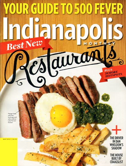 Indianapolis Monthly Cover - 5/1/2012