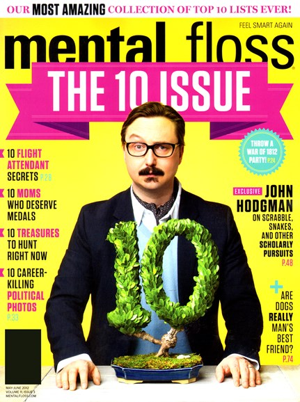 Mental Floss Cover - 5/1/2012