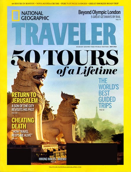National Geographic Traveler Cover - 5/1/2012