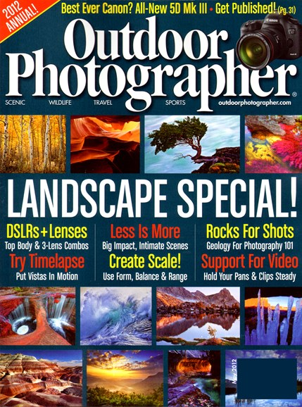 Outdoor Photographer Cover - 5/1/2012