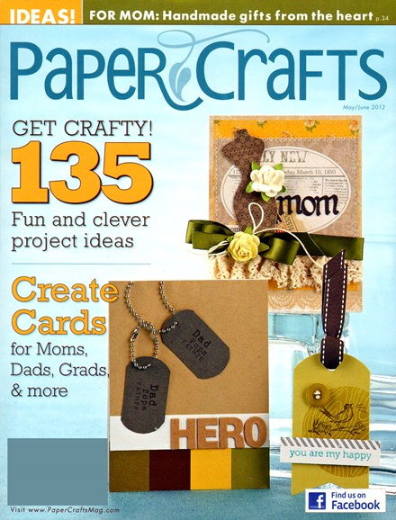 Paper Crafts Cover - 5/1/2012