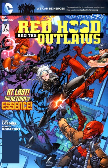 Red Hood and the Outlaws Cover - 5/1/2012