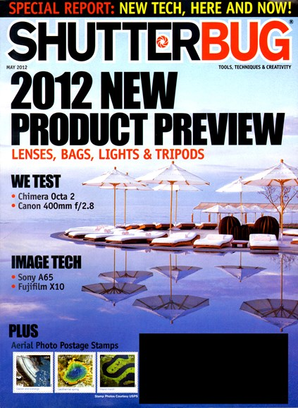 Shutterbug Cover - 5/1/2012