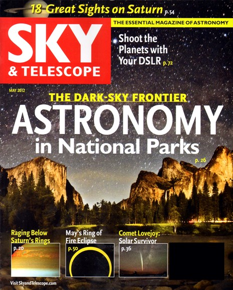Sky & Telescope Cover - 5/1/2012