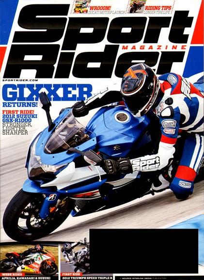Sport Rider Cover - 5/1/2012