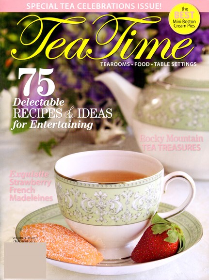 Tea Time Cover - 5/1/2012