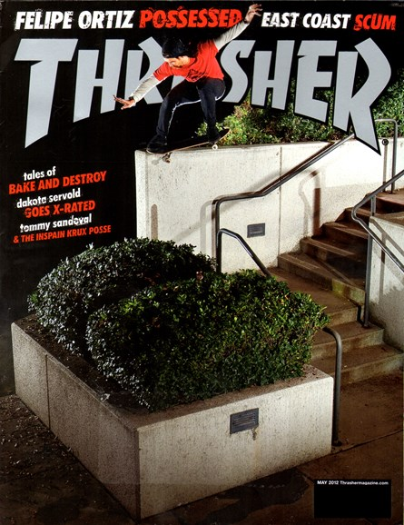 Thrasher Cover - 5/1/2012