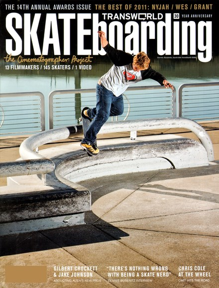 Transworld SKATEboarding Cover - 5/1/2012