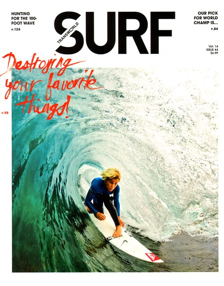 Transworld SURF Cover - 5/1/2012