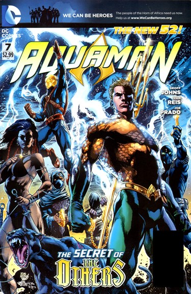 Aquaman Cover - 5/1/2012
