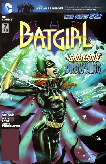 Batgirl Cover - 5/1/2012
