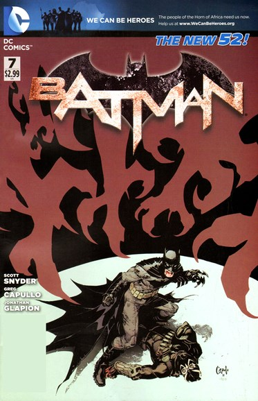 Batman Cover - 5/1/2012