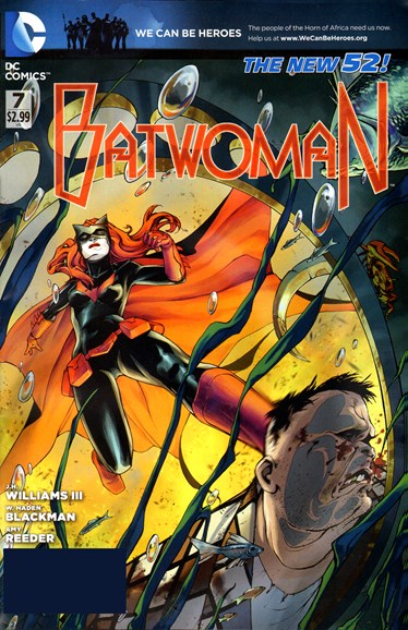 Batwoman Cover - 5/1/2012