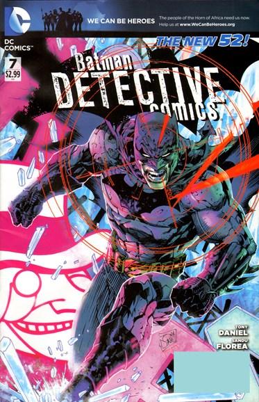 Detective Comics Cover - 5/1/2012