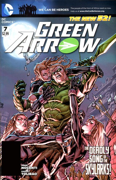 Green Arrow Cover - 5/1/2012