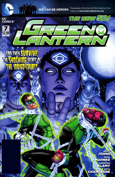 Green Lanterns Cover - 5/1/2012