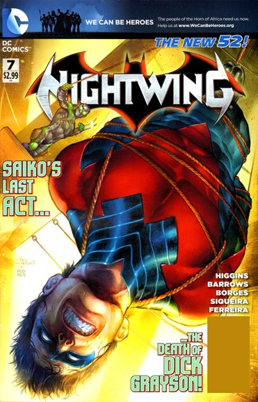 Nightwing Cover - 5/1/2012