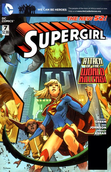 Supergirl Cover - 5/1/2012