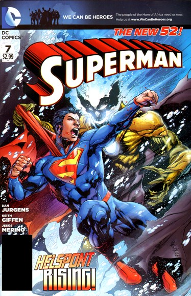 Superman Cover - 5/1/2012