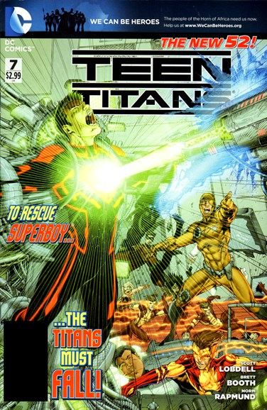 Teen Titans Cover - 5/1/2012