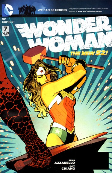 Wonder Woman Cover - 5/1/2012