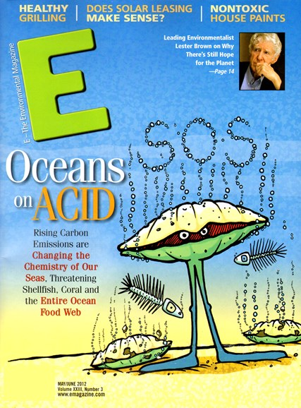 E: The Environment Magazine Cover - 5/1/2012