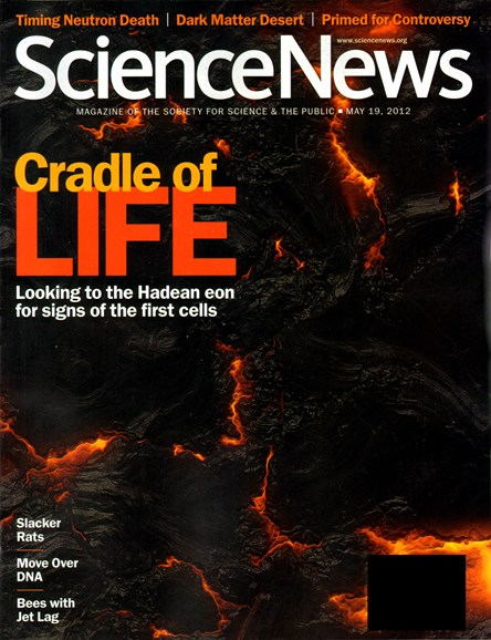 Science News Cover - 5/19/2012