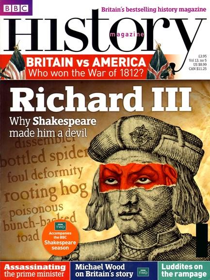 BBC History Cover - 5/1/2012