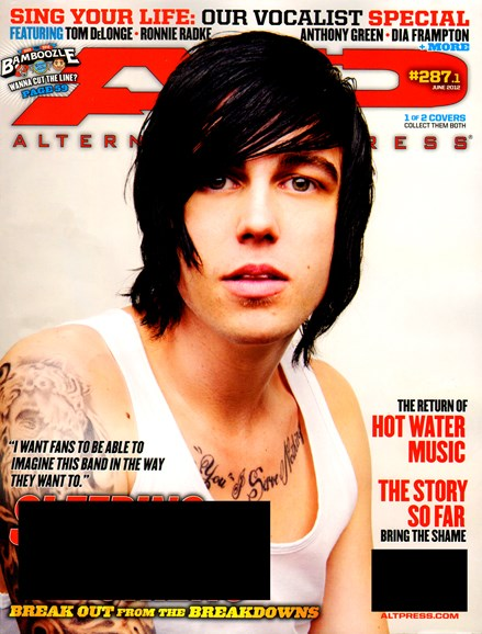 Alternative Press Cover - 6/1/2012