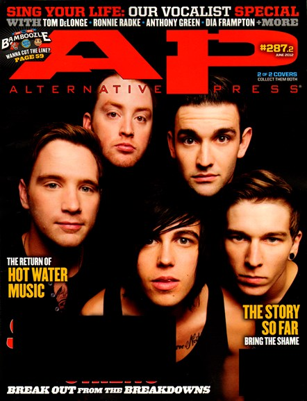 Alternative Press Cover - 6/2/2012