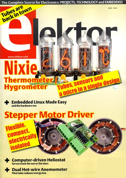Elektor - North American Edition Cover - 6/1/2012