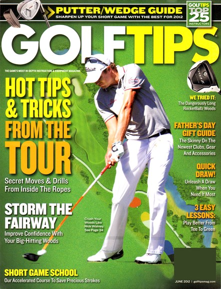 Golf Tips Cover - 6/1/2012