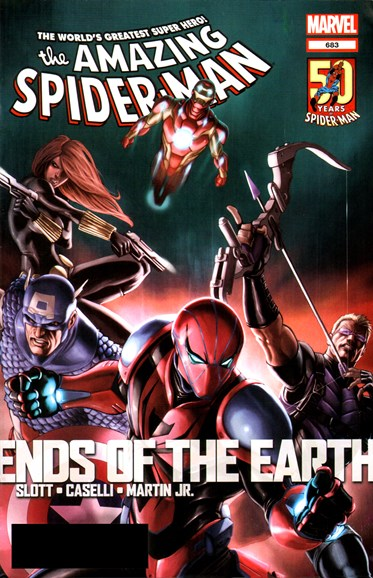 Amazing Spider-Man Cover - 6/1/2012