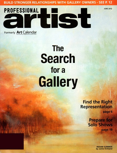 Professional Artist Cover - 6/1/2012