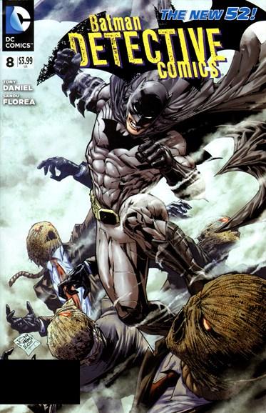 Detective Comics Cover - 6/1/2012