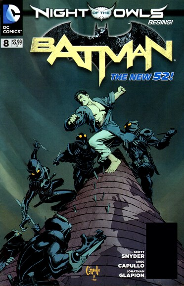 Batman Cover - 6/1/2012