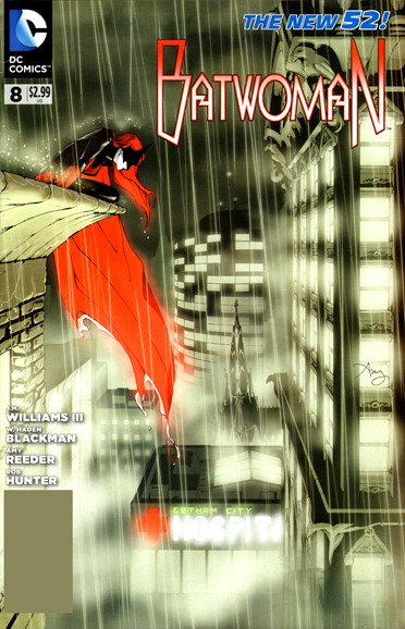 Batwoman Cover - 6/1/2012