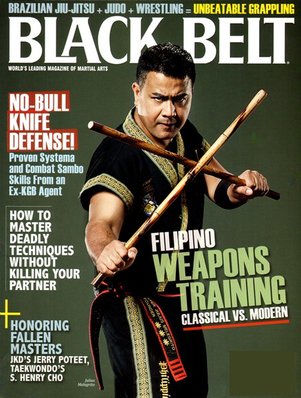 Black Belt Magazine Cover - 6/1/2012