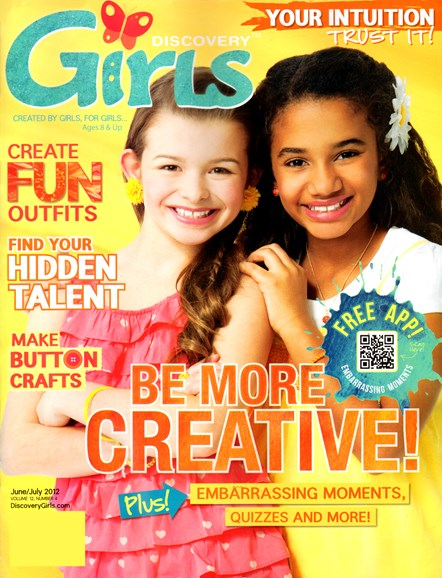 Discovery Girls Cover - 6/1/2012