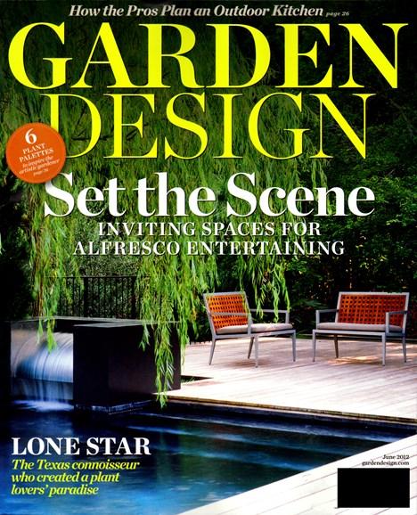 Garden Design Cover - 6/1/2012