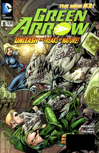 Green Arrow Cover - 6/1/2012