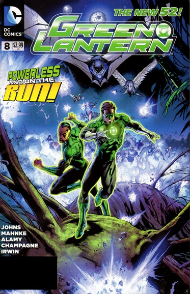 Green Lanterns Cover - 6/1/2012